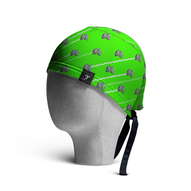 WooCaps Ujjayi Scrub Cap Side View