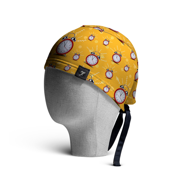 WooCaps Wake Up Scrub Cap Side View