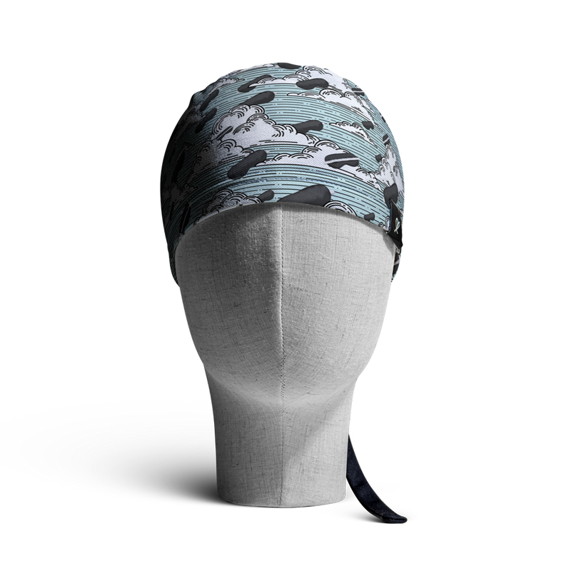 WooCaps Beauty Sleep Skull Cap Front View