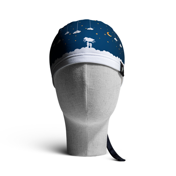 WooCaps Sweet Dreams Scrub Cap Front View