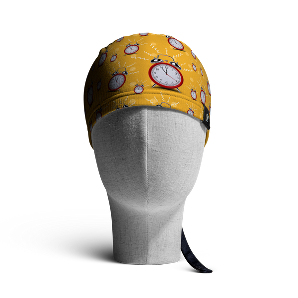 WooCaps Wake Up Scrub Cap Front View