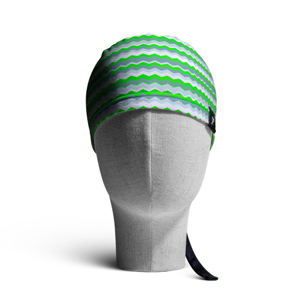 WooCaps Wavelength Scrub Cap Front View