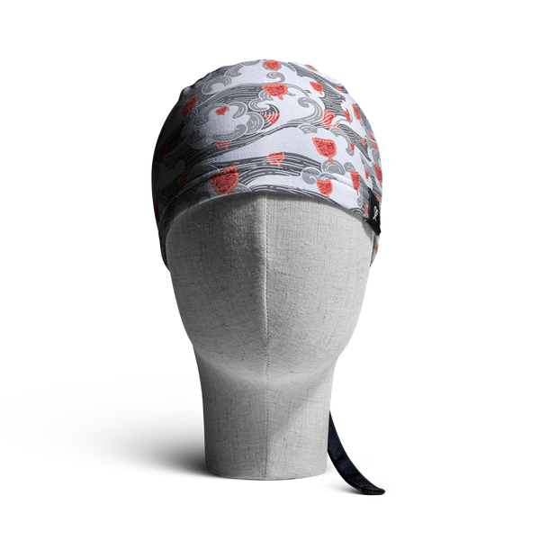 WooCaps Windblown Scrub Cap Front View