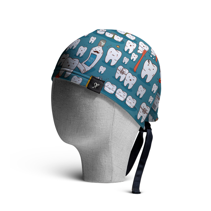 WooCaps Tooth & Co Skull Cap Side