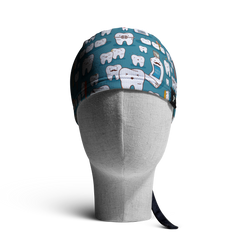 WooCaps Tooth & Co Skull Cap Front