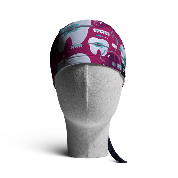 WooCaps Under Construction Skull Cap Front