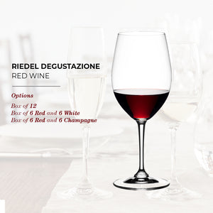 Riedel Degustazione Red Wine Glass - Box of 12