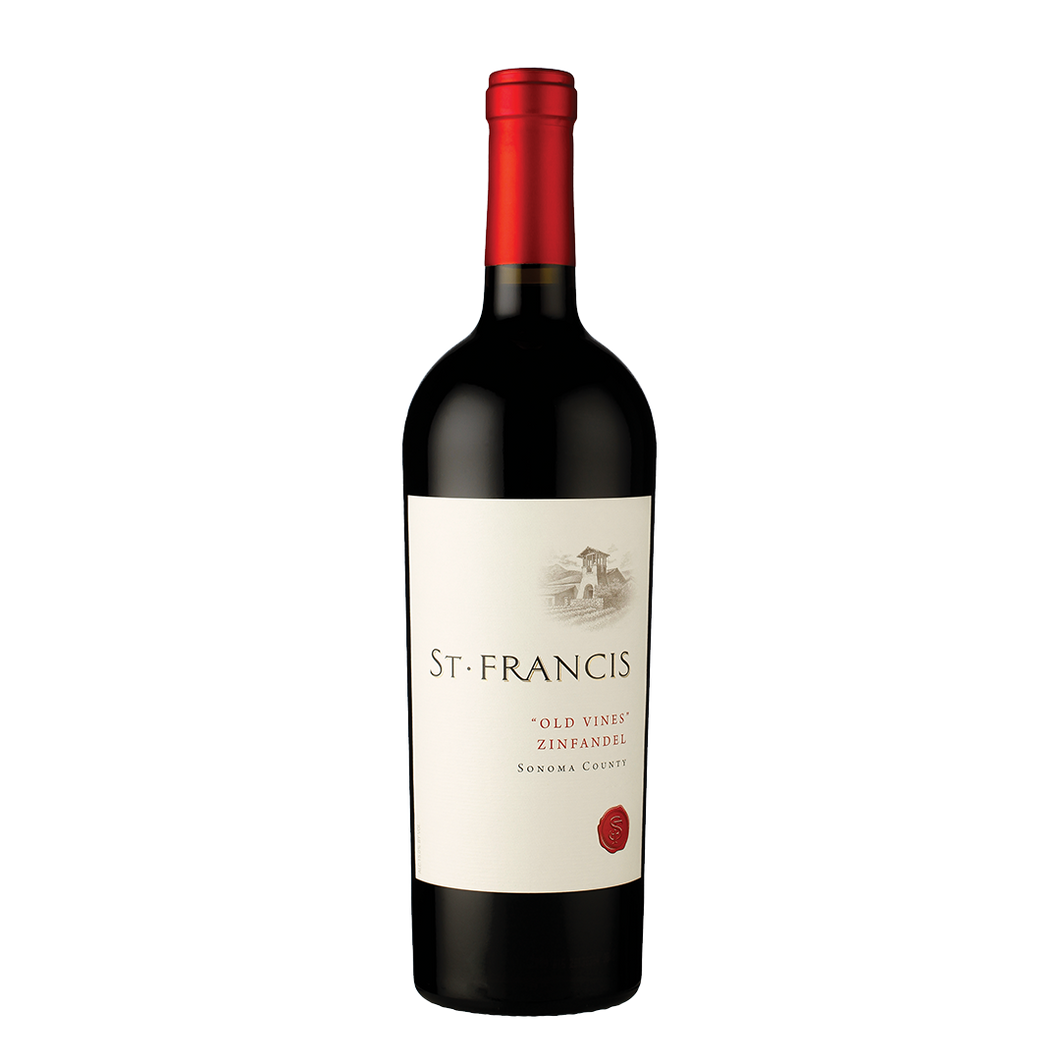 St. Francis Old Vines Zinfandel 2017, Sonoma County