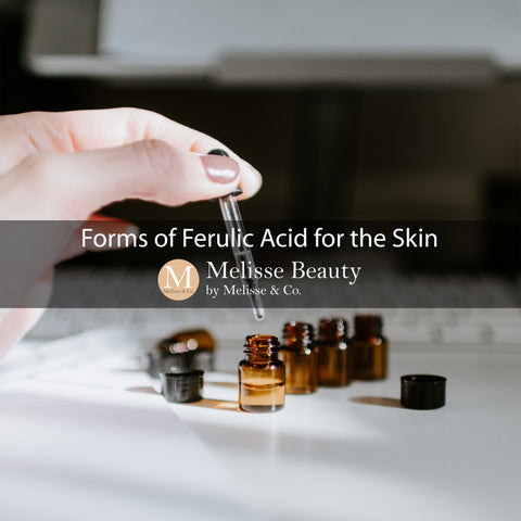 Forms of Ferulic Acid for the Skin