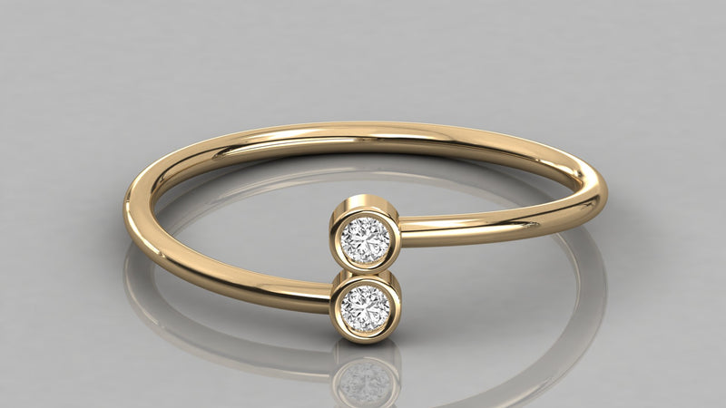 Gold Forever Us Diamond Ring
