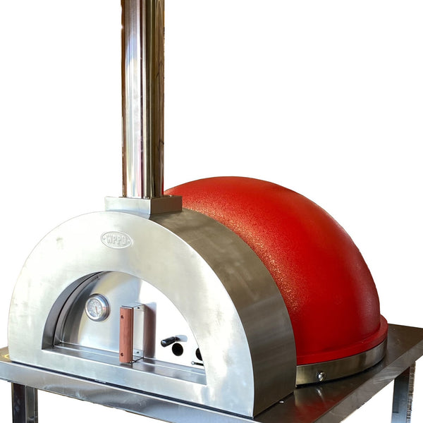 Stainless and Stone Wood Fired Dome Brick Oven. - WPPO LLC Direct