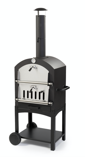 WPPO Llc Standalone wood fired garden oven with pizza stone. - WPPO LLC Direct - Wood Fired Pizza Ovens