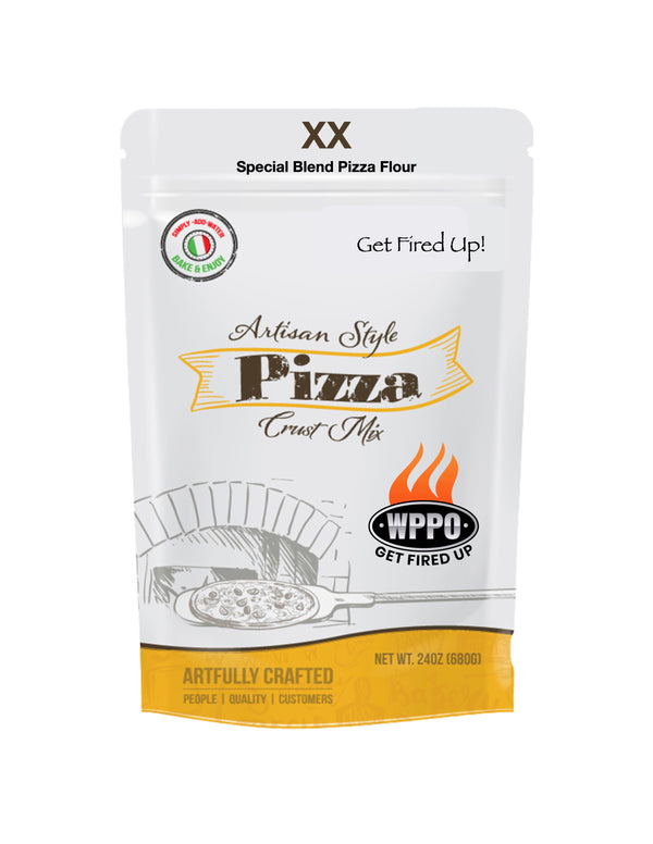 Artisan Style Pizza Crust Mix - Ready in 20 Min. - WPPO LLC Direct