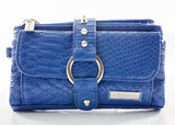 Purse - Kash & Karee - Royal Blue Snakeskin