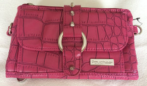 Purse - Kash & Karee - Sangria Croco