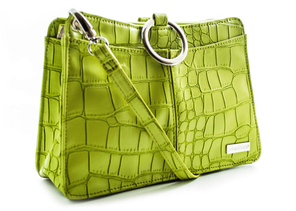 Plus Deluxe - Lime Green Croco