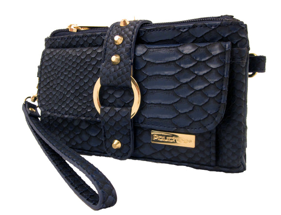 Kash & Karee Purse Navy Blue