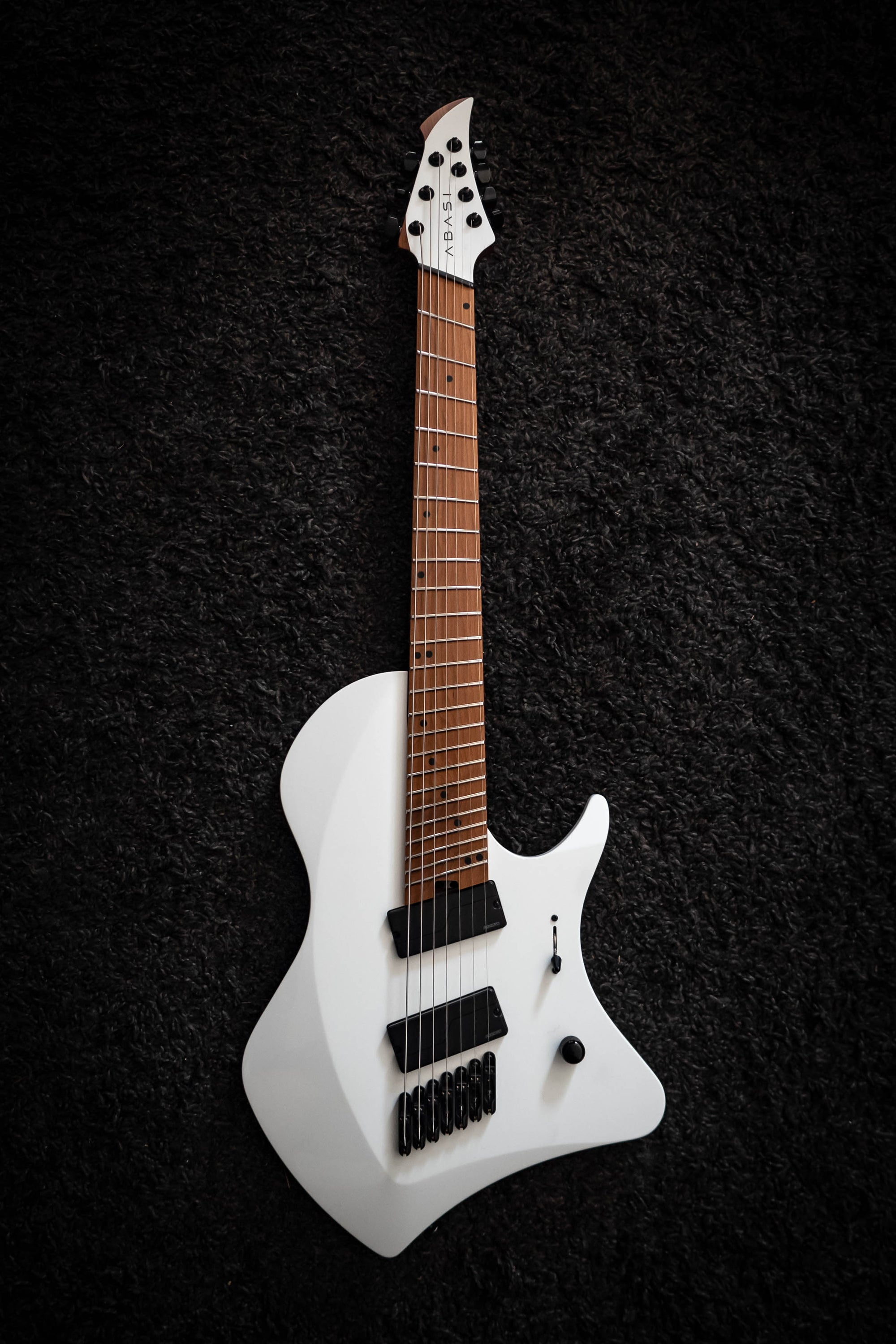 J Larada 7 // Arctic White [Roasted Maple Neck + FB]