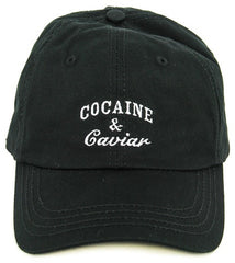 COCAINE & CAVIAR DAD'S HAT