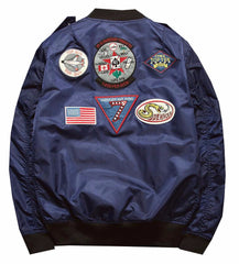 Top Gun Bomber Jacket (Navy) *Made to Order*