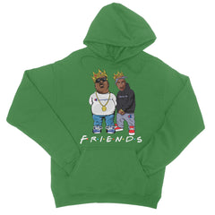 PAC & BIGGIE FOREVER College Hoodie