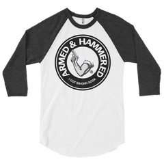 ARMED & HAMMERED RAGLAN TSHIRT
