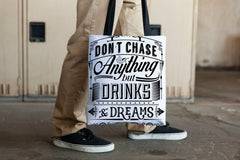 BEACH BAG CHASE DRINKS & DREAMS