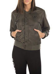 C.N.C BOMBER JACKET IN RIFLE GREEN