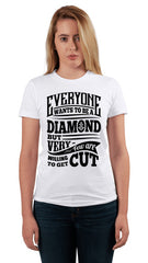 DIAMOND CUTTER LADIES TEE