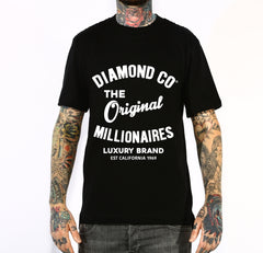 DIAMONDS CO MILLIONAIRES MENS TSHIRT
