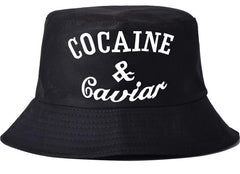 COCAINE & CAVIAR BUCKET HAT