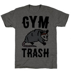 GYM TRASH OPOSSUM T-SHIRT