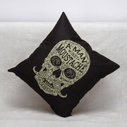 Halloween Skull Printed Pillow Case Square Sofa
