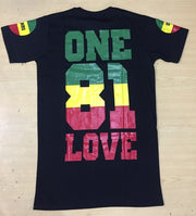 BOB MARLEY ONE LOVE 81 SHIRT