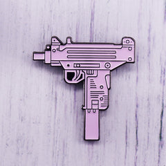 Retro Water Gun enamel pin Children's toy gun pin kids gift