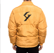 G Yellow Puffy Jacket
