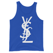 YSL Money Dollar Yen Pound Tank Top