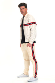 SHIELD JACKET & PANT  SET- BEIGE