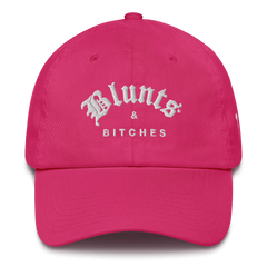 BLUNTS & BITCHES DAD'S HAT