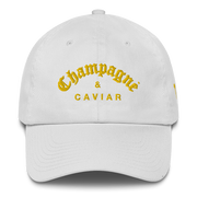 Champagne & Caviar Dad'S  Hat Gold