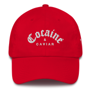 COCAINE & CAVIAR BRAND DAD'S HATS