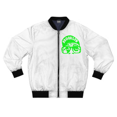Brooklyn Lime Green Bomber Jacket