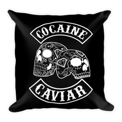 COCAINE & CAVIAR DIAMOND SKULL