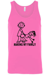 Men's Making My Family Tank Top Shirt