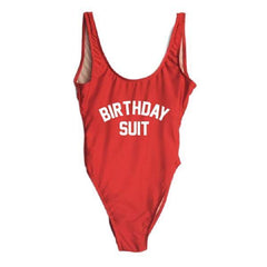 Birthday Suit One Piece