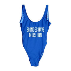 Blondes Have More Fun One Piece