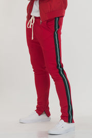 SHIELD TAPED PANTS- RED