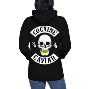 LADIES COCAINE & CAVIAR GOLD GRILL HOODIE