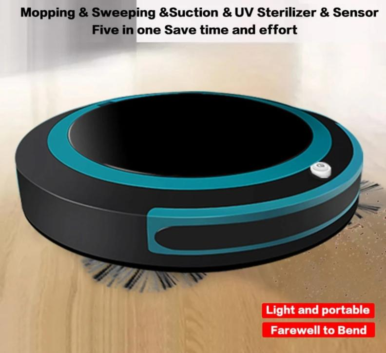 Syrite Automatic Smart Robot Vacuum Cleaner Mopping Sweeping Suction Cordless Auto Dust Sweeper Rechargeable