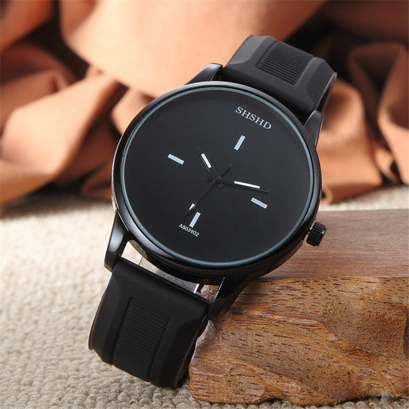 Casual Men's Leather Watch-